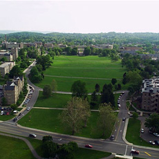 a picture of the drill field at VT